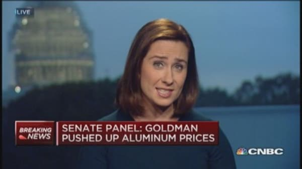 Senate panel: Some banks manipulated commodities