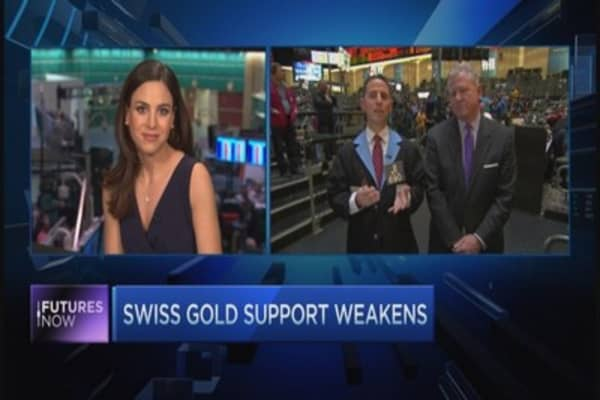 Is Swiss poll sign to sell gold?