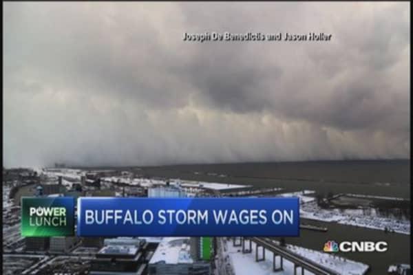 Buffalo snow timelapse