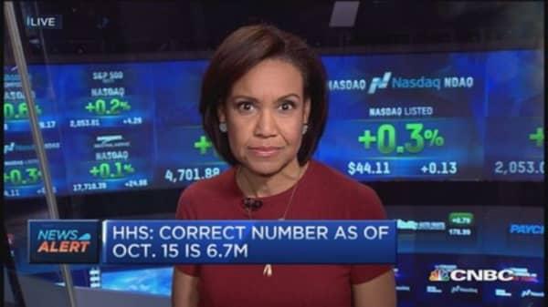 Obamacare enrollment mistake