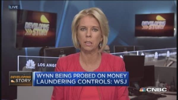 Wynn Resorts probed on money laundering: DJ