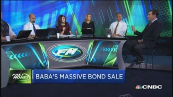 Alibaba's massive bond sale