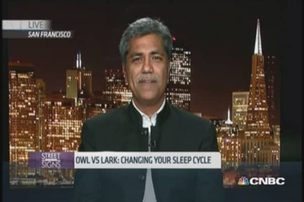 CEO shares tips on surviving little sleep