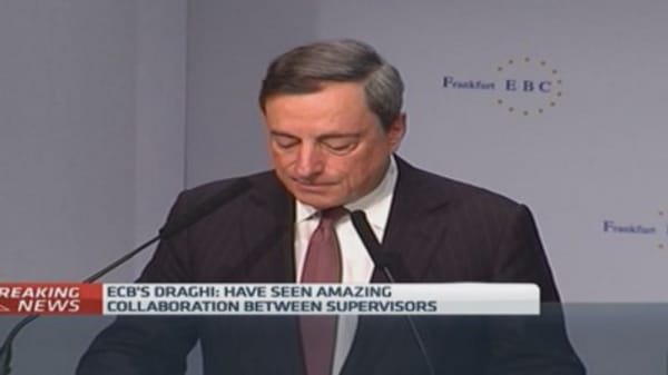 ECB could 'broaden' policy: Draghi