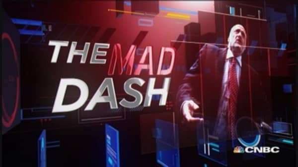 Cramer's Mad Dash: Bull market in footwear