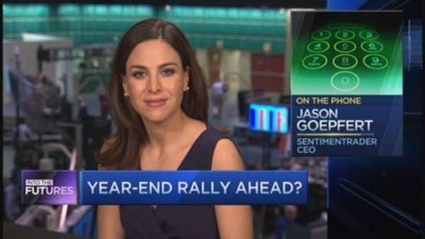 Into the Futures: Santa rally ahead?