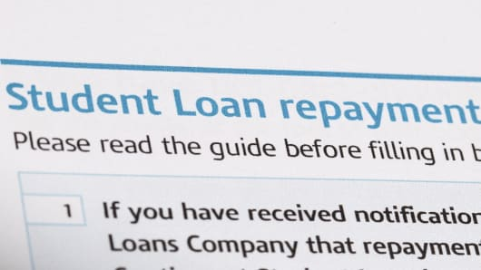 Student loan repayment on tax form