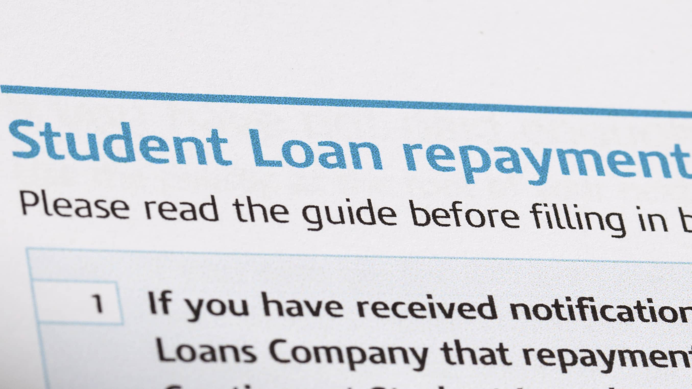 Student loan borrowers: Can you pass my repayment test?