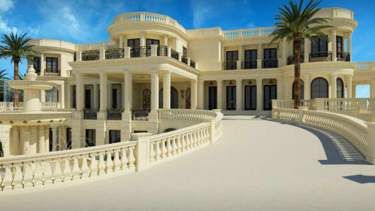 This 60,000 square foot Miami mansion recently hit the market for $139M