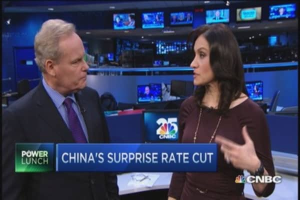 What drove China's surprise rate cut