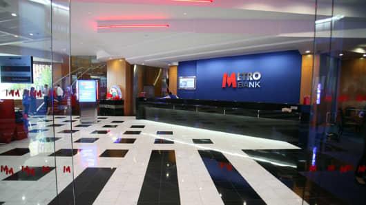 METRO BANK OPENS BRANCH