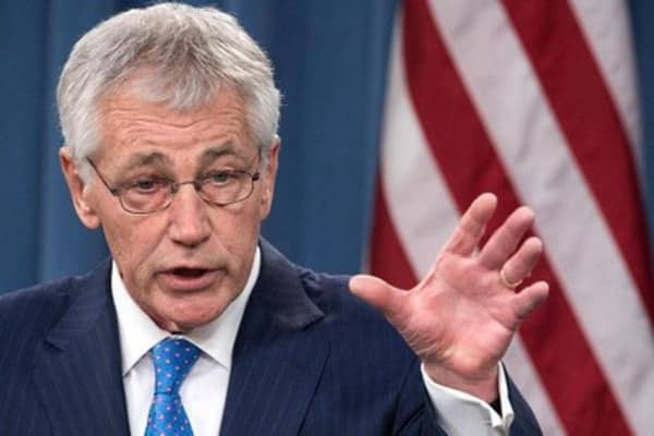Defense Sec. Chuck Hagel stepping down