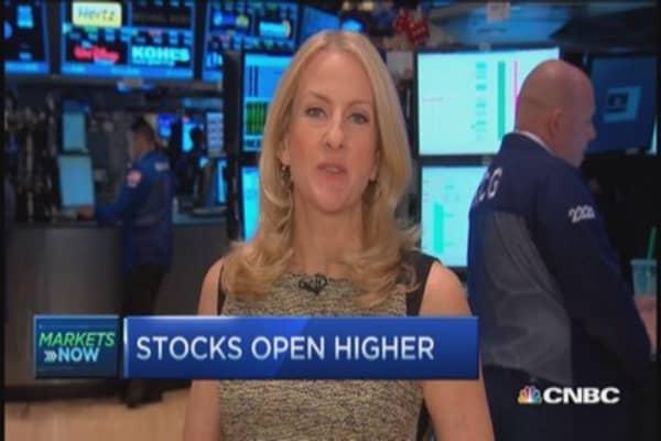 Market open: Bullish bid to market