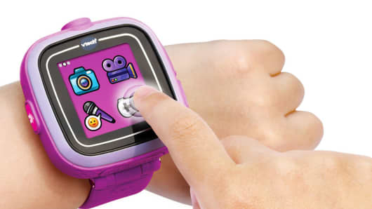 The VTech Kidizoom smartwatch