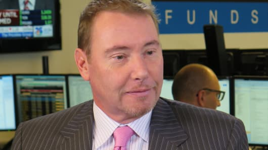 Jeffrey Gundlach, CEO of DoubleLine Capital, is betting that the best way to play the coming rate hikes is by holding lots of mortgages.