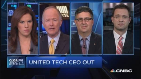UTX CEO shakeup