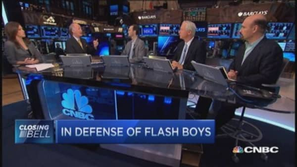 Former HFT COO: Lewis's 'Flash Boys,' dead wrong