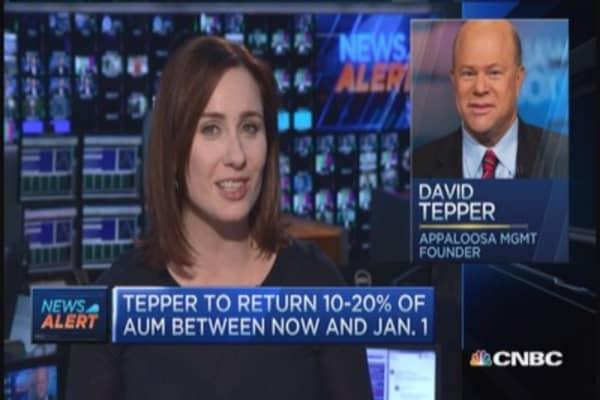 Tepper to return billions