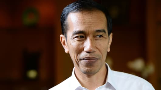 Joko Widodo, Indonesia's president.