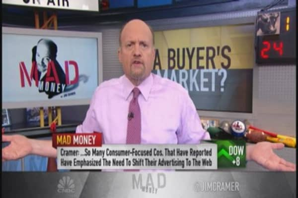 Cramer: Money managers desperate to put $ to work