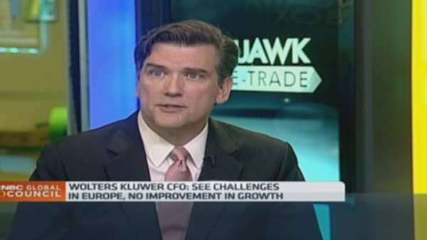 Wolters Kluwer CFO on the company's digital drive