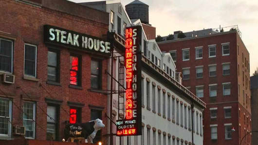 Old Homestead Steakhouse, New York