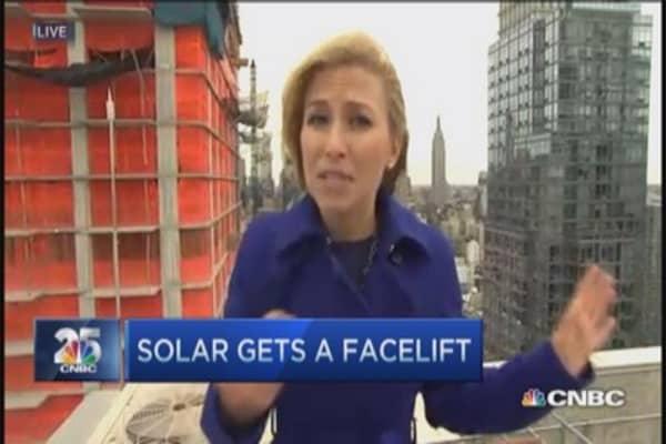 Solar energy gets a facelift