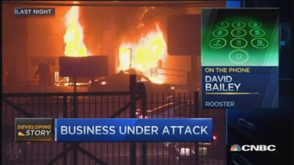 Local businesses target of angry protests in Ferguson