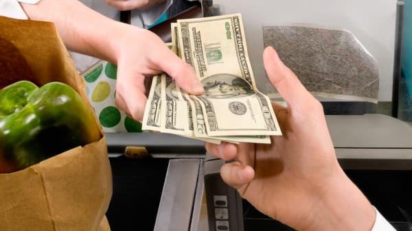 Cash transaction retail