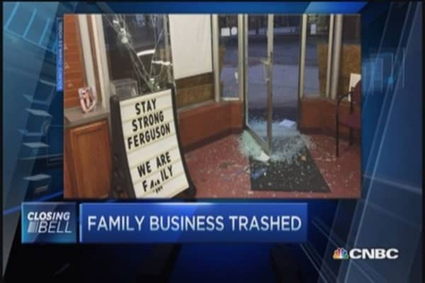 Ferguson biz owners wary of outside looters