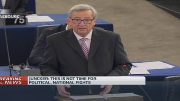 Juncker outlines 'grand bargain' investment plan