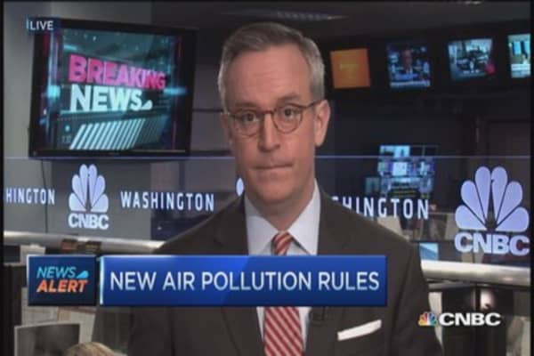 EPA's new air pollution rules