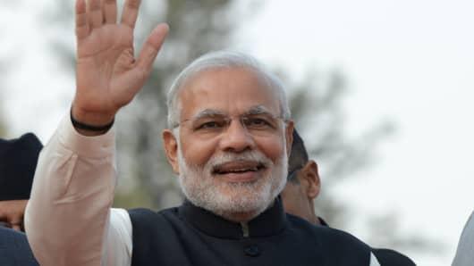 Narendra Modi, prime minister of India.