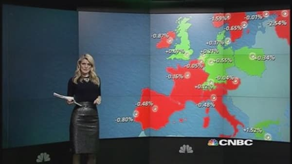 Europe shares close mixed; DAX up for 10th session