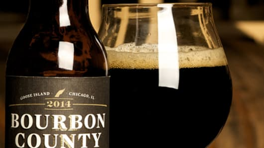 Goose Island Beer Company's Bourbon County Stout