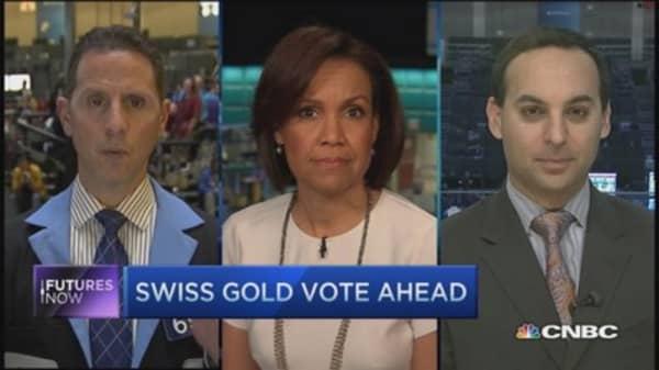 Futures Now: Swiss gold referendum