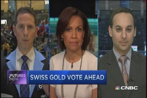 Futures Now: Swiss gold referendum