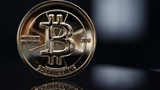 Bitcoin medal