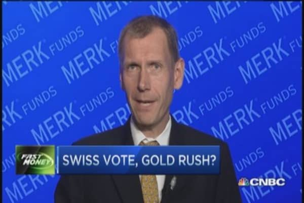 Take your position: Swiss gold referendum