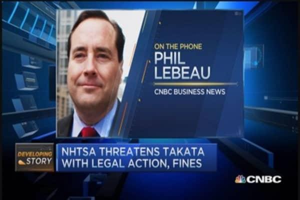 US regulators demand Takata recall