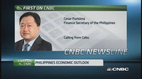 Philippines finance secretary: Fundamentals intact