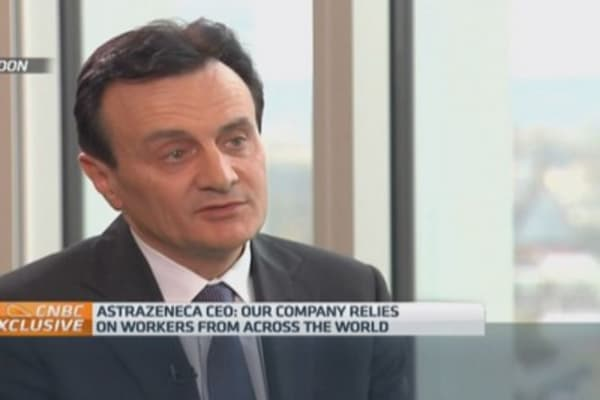 I'm a strong believer in Europe: Astrazeneca CEO