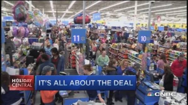 Black Friday shopping madness