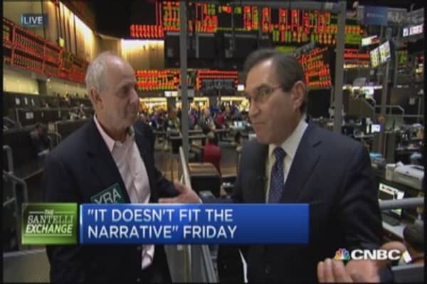 Santelli Exchange: Narrative busters