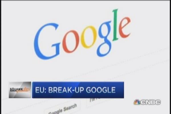 Europe's call to break up Google