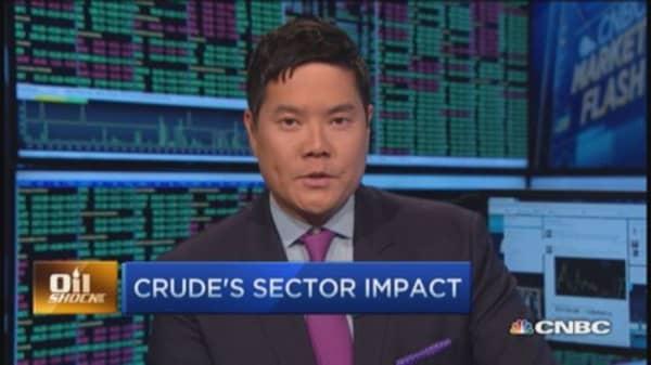 Crude oil under pressure