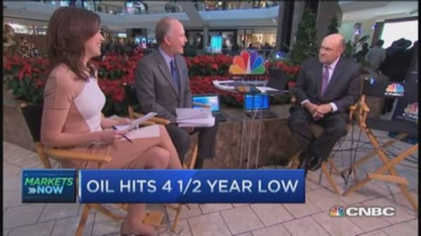 Closing Bell Exchange: Oil's big decline