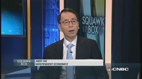Andy Xie: 'Chinese economy is stuck'