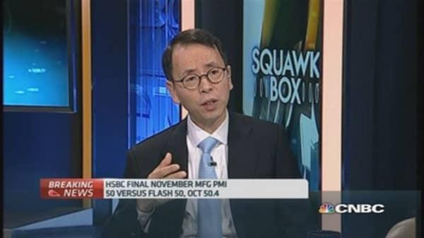 China PMI underscores overcapacity woes: Xie