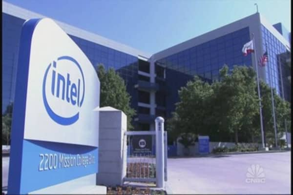Intel's making waves in the tech sector